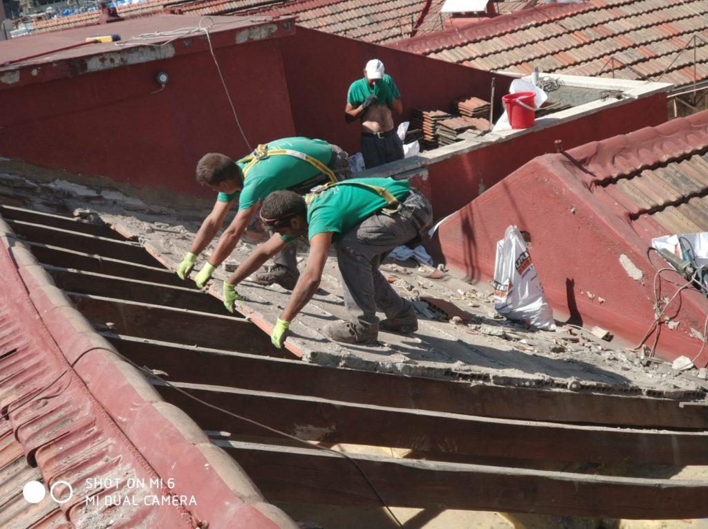reparación de tejados en madrid, arreglo de tejados en madrid, tejados madrid